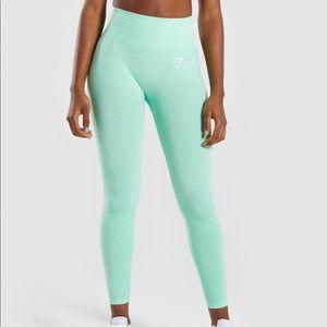 Sour pistachio vital seamless leggings NWT